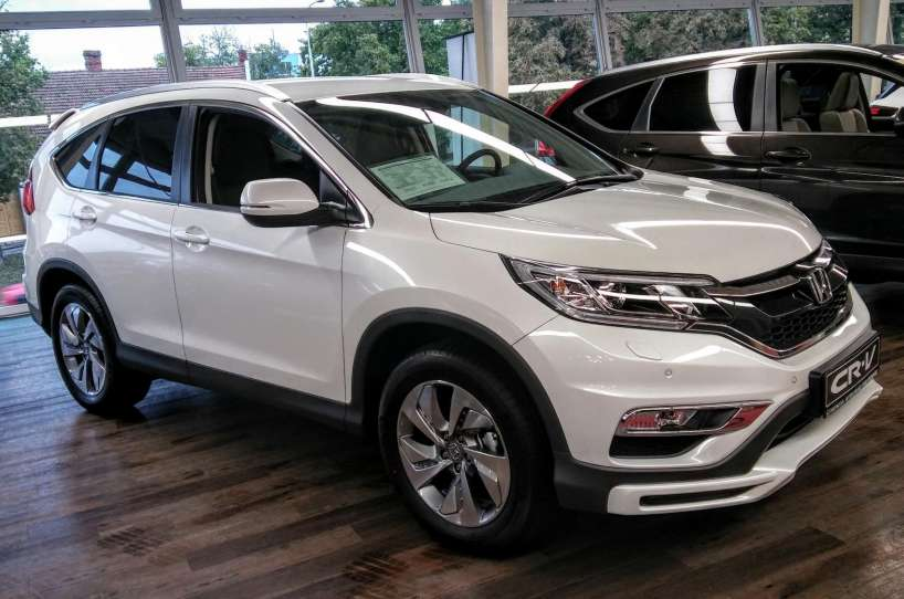 Honda CR-V 2.0i-VTEC Lifestyle Plus 4x4 MT + navi